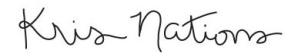 Kris Nations logo